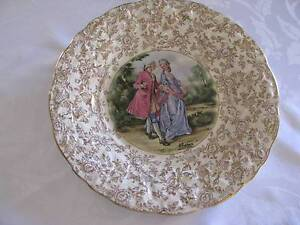 "James Kent Vintage China ""Romance"" Gold Chintz Decorative Dish En Cleveland Redland Area Preview"