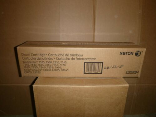 GENUINE XEROX DRUM CARTRIDGES 013R00662 WORKCENTRE 7525 7530 7535 7545  sealed