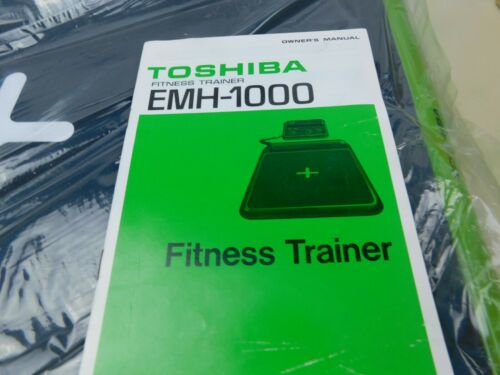 Toshiba EMH-1000 Fitness Trainer Pedometer (VERY RARE) Vintage Collectible