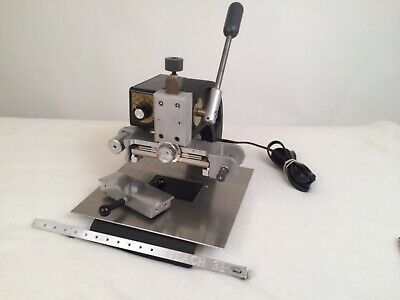 Veach Stamping Machine Gold Foil Press Working Near Mint