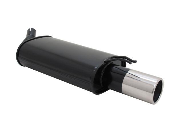 NOVUS Sportauspuff Endschalldämpfer 1x90mm für RENAULT TWINGO I 1.2 C06