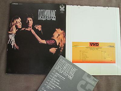 FLEETWOOD MAC In Concert-Mirage Tour JAPAN-ONLY VHD SLIP CASE+INSERT VHM68014