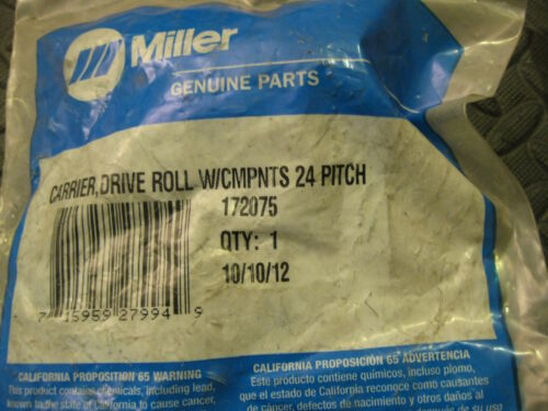 Miller 172075 24 Pitch Carrier Drive Roll w Components