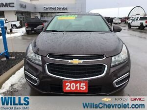 2015 Chevrolet Cruze LT|LEATHER|NAVIGATION|SUNROOF