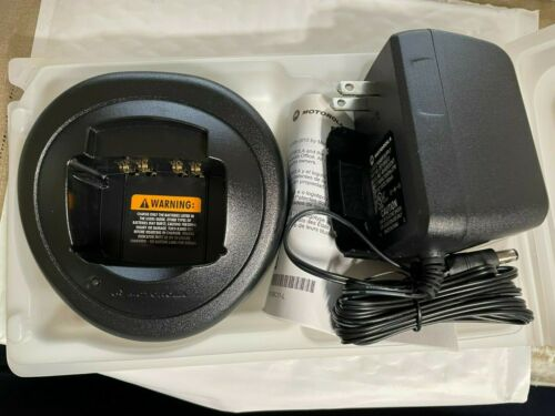 NEWMotorola HTN9000C Charger + 2571586S13 RAPID RATE Power supply Free shipping