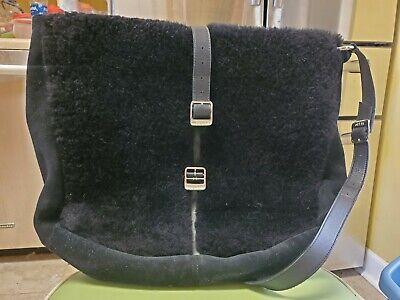 Ugg black Fur & Suede Large Bag Purse Tote for sale  Griffin