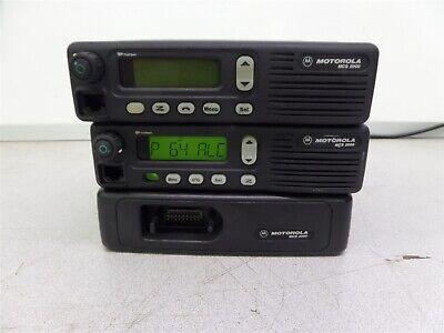 Motorola Lot Of 3 M01hx934w Mcs2000 M01hx914w Radio 2 Way Radio M01wjn4pw6cn