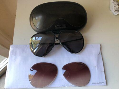 Carrera Porsche design Sunglasses black Original Rare Austria 5623 Vintage