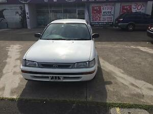 1999 Toyota Corolla Sedan Woolloongabba Brisbane South West Preview