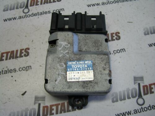 Lexus RX300 3.0 heater blower motor control 87165-22050 used 2002