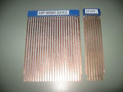 Hp 8590 Agilent 6x2 22x2 Extender 2 Board Set Spectrum Analyzer Riser Kit Form