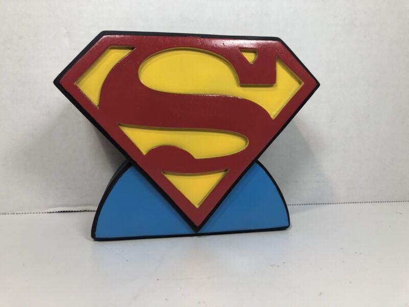 Vintage Superman Coin Bank - M.Z. Berger