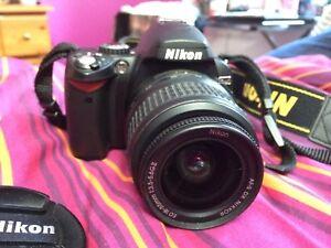 Caméra Nikon d40