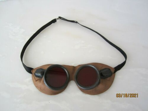 WWI CANADIAN EXPEDITIONARY FORCE HIGH DENSITY GOGGLES BEYOND RARE