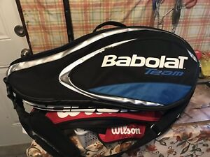 Tennis bag - holds up to 6 racquets