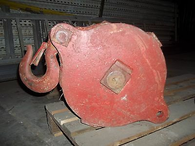 Material Handling Crane Lift Hook Block Single 12 Sheave