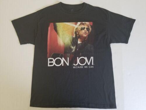 2013 Bon Jovi Because We Can Tour T-Shirt (Size Large)