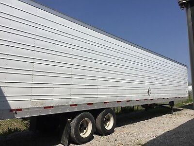 53' UTILITY REFRIGERATED REEFER TRAILER VIRGINS CARRIER FRESH SERVICE GUARANTEE