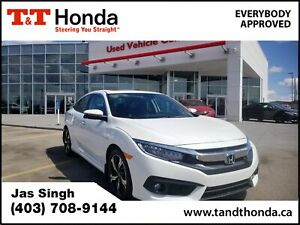 2016 Honda Civic Touring *Leather, Navi, Heated Seats, Turbo...