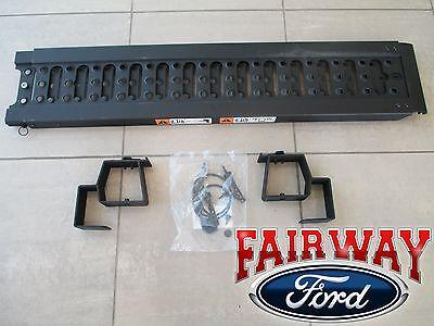 15 thru 20 Ford F-150 OEM Genuine Ford Aluminum Stowable Bed Single Ramp Kit NEW