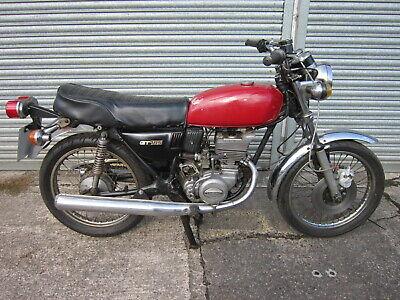 1979 SUZUKI GT185 CLASSIC TWO STROKE MOTORCYCLE -UK RUNNING BIKE FOR RESTORATION