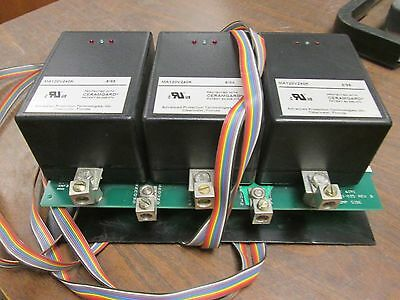 Transient Eliminator Surge Suppressor Xte2xga 208120v 5060hz Used