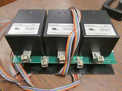 Transient Eliminator Surge Suppressor Xte2xga 208120v 5060hz Used