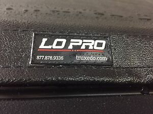Low pro truck box cover