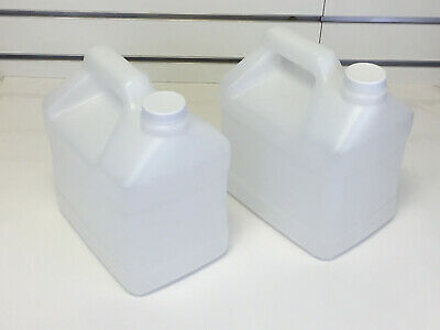2 Jugs For Carpet Cleaning Pressure Sprayer - 5 Quart With Lids - Free Ship