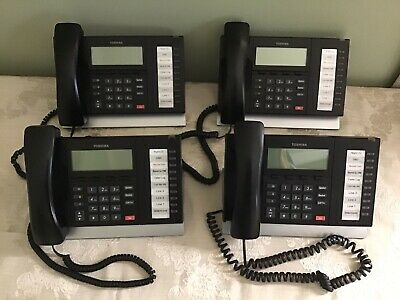 Toshiba Dp5022-sd Digital Business Phone Set Of 4  Clean Excellent