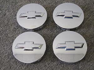 4 - Chevy Suburban Tahoe Silverado Center Caps 2094203 for 18 20 22 24 Wheel Rim