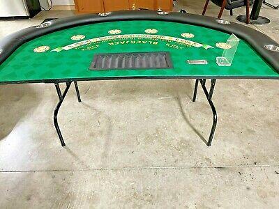 Professional Size Blackjack Table ( Used ) 6 Spots