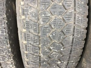 Ford F 150 snow tires on rims