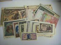 Billetes Reproducion Autorizada De Billetes De La Peseta Lote De 52 Billetes L-1 -  - ebay.es