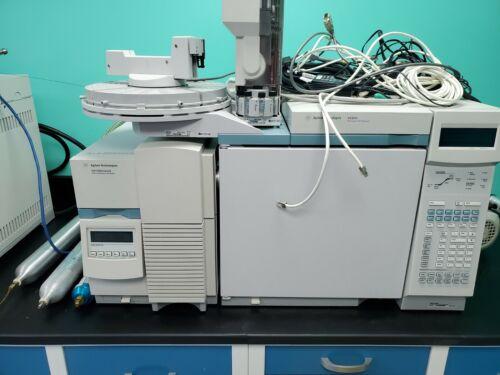 Agilent 5973 network mass spectrometer .