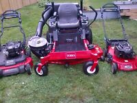 Lawn care - Lawn mowing