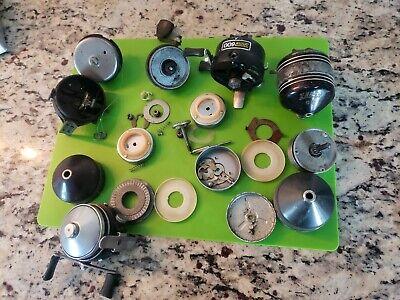 pour atelier de réparation//collector. Med Box Vintage New Fishing Reel parts surprise Boxs