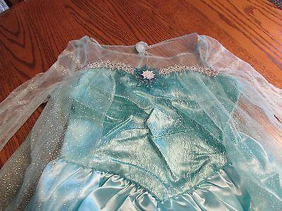 Disney Frozen Princess Elsa Snow Queen Girl's Dress up Dress Sz. 4-6x NWT $34.99