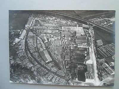 Original-Fotografie Luftaufnahme a. Zeppelin 1910? vermutl. Raum Baden-Baden (4)