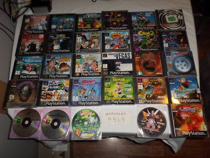PS1 Games and Accessories
