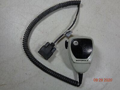 Motorola Apx Xtl Spectra Vhf Uhf 700800 Motorcycle Palm Microphone Hmn1079a -c2