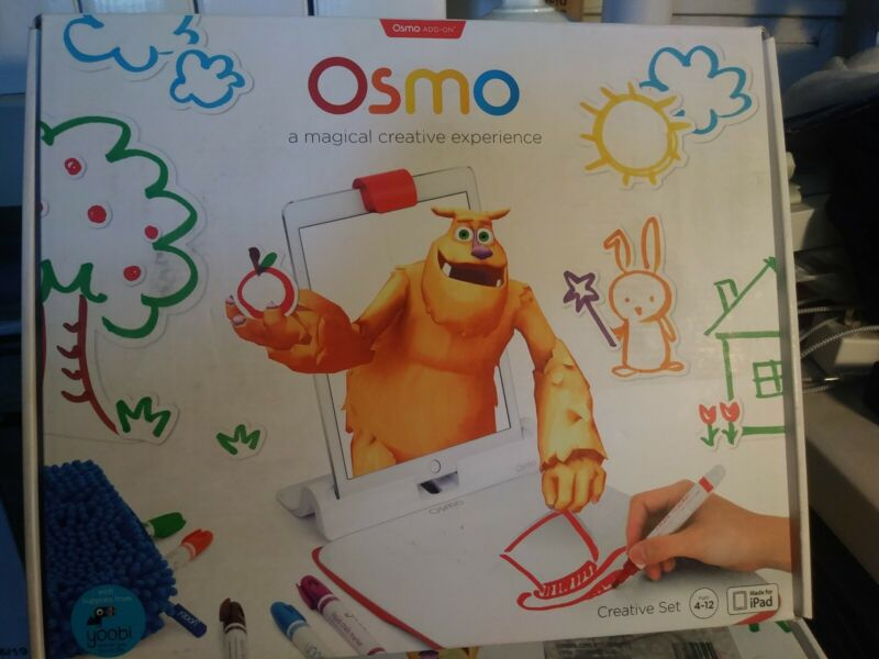 Osmo A Magical Experience Creative Set w/ Monster Game TP-OSMO-09 Ages 4+