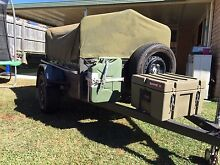 6x4 high side trailer with canopy Warner Pine Rivers Area Preview