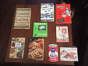 Nice lot of Vintage Cook books