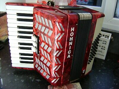 HOHNICA 48 BASS ACCORDION LIGHTWEIGHT MODEL FREE UK COURIER