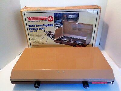 Century Propane - Vintage Winnebago 2-Burner PROPANE CAMP STOVE Model 18550 Century Primus NOS!