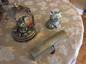Pewter Baby Keepsake Items
