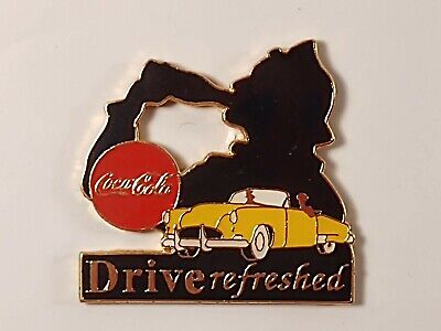 Coca-Cola Coke Drive Refreshed Lapel Pin