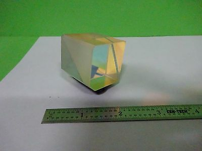 Optical Mounted Beam Splitter Coated Cube Laser Optics W8-03