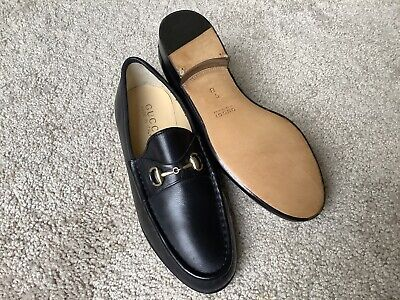 Women's Gucci size 5B Horsebit loafers new without box